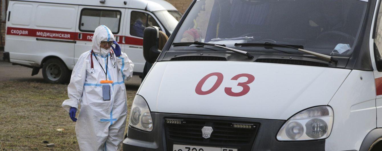 В России зафиксировали рекордное количество смертей от коронавируса с начала пандемии