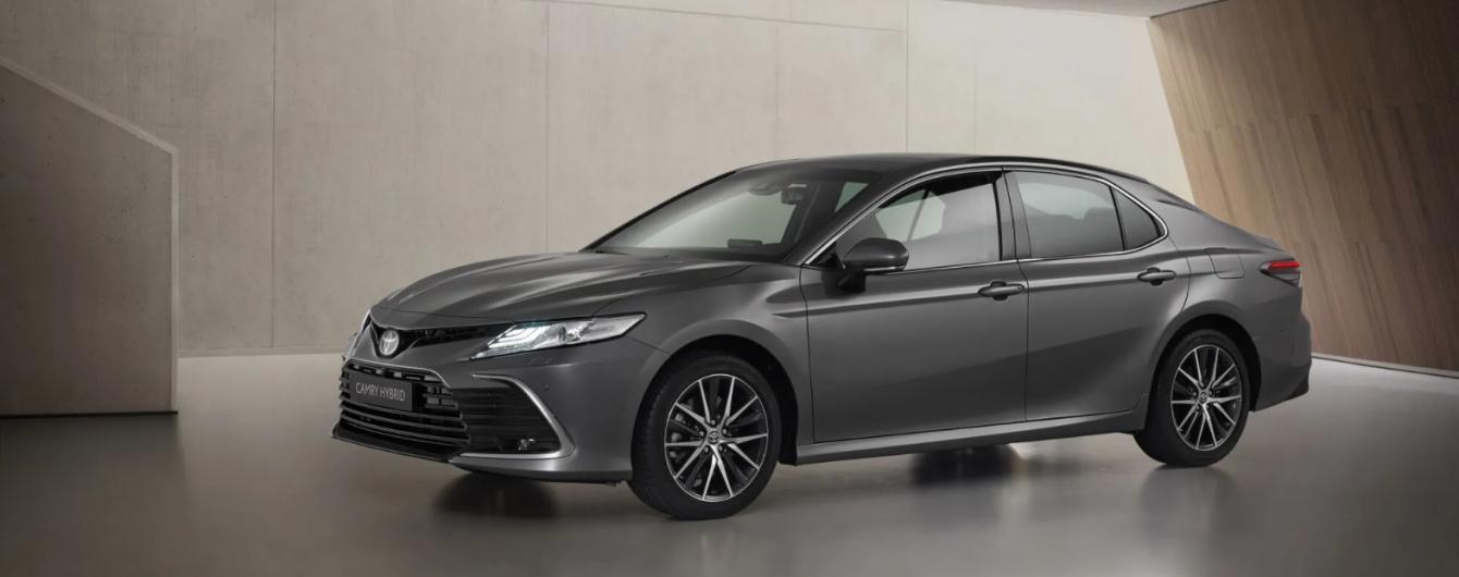В Украине стартовал предварительный заказ обновленной Toyota Camry
