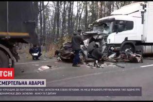 Во время ДТП в Черкасской области погибла мама с маленьким ребенком