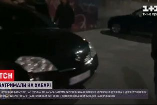 У Кропивницькому на хабарі затримали чиновника управління Держпраці