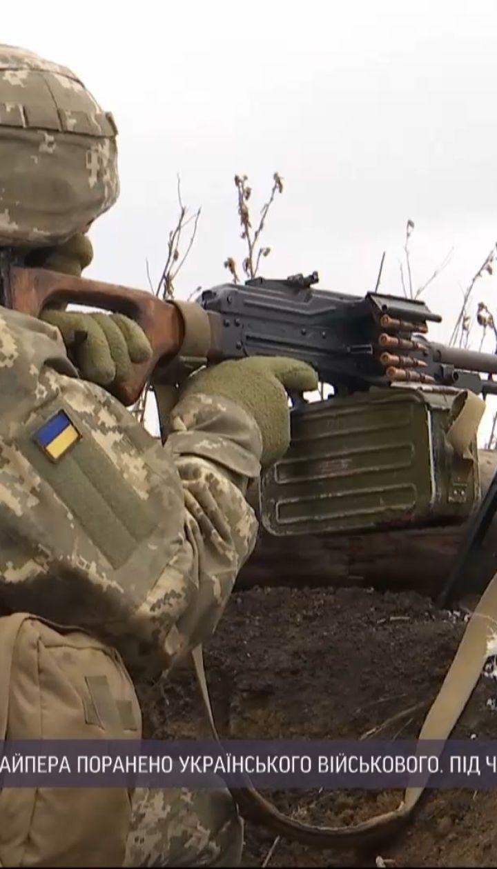 В больнице скончался украинский военный, которого подстрелил снайпер боевиков