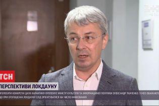 Міністр культури України запропонував ввести двотижневий локдаун на новорічні свята