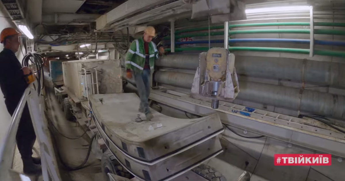 Как в Киеве строят метро на Виноградарь: Кличко показал видео