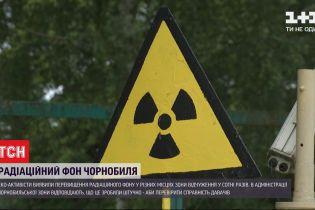Превышение радиационного фона в Чернобыле - есть или нет