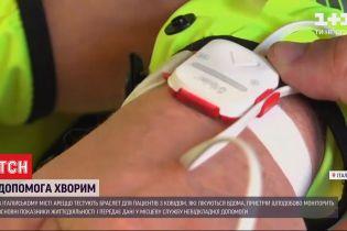 В итальянском Ареццо испытывают браслет для больных коронавируса, которые лечатся дома
