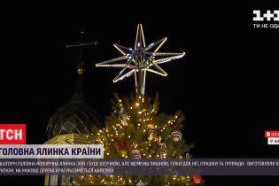 В Киеве начали устанавливать главную новогоднюю елку страны