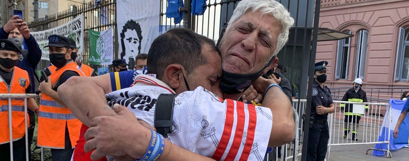 У Буенос-Айресі прощання з Марадоною переросло у вуличні заворушення та сутички