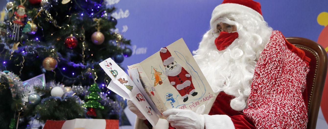 Карантинне Різдво: у Британії Санта-Клауси вітають дітей через відеоконференції
