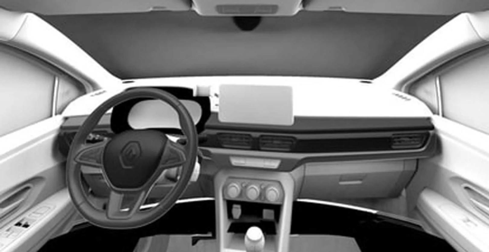 Renault Logan, interior