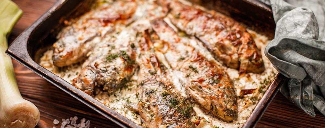 Жареные караси в сметане: рецепт от Евгения Клопотенко