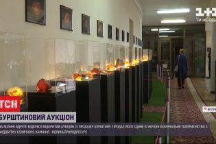 Тонна янтаря с молотка: на Волыни состоялся открытый аукцион второй раз за 2 месяца
