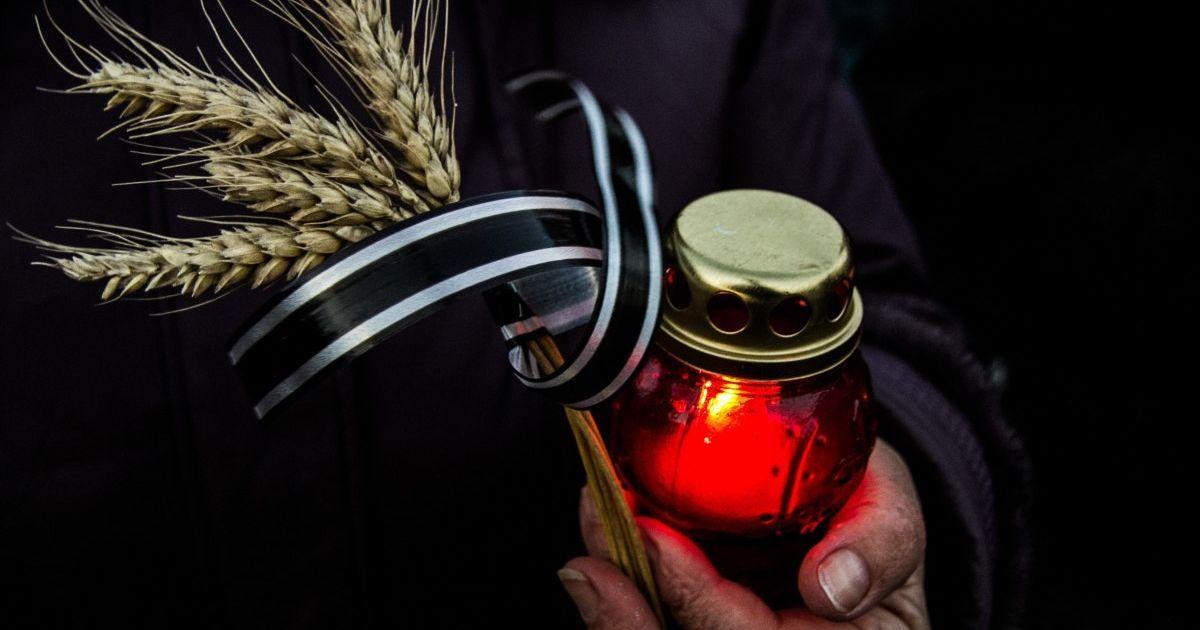 День памяти жертв голодоморов: украинцев призывают в 16:00 зажечь свечу