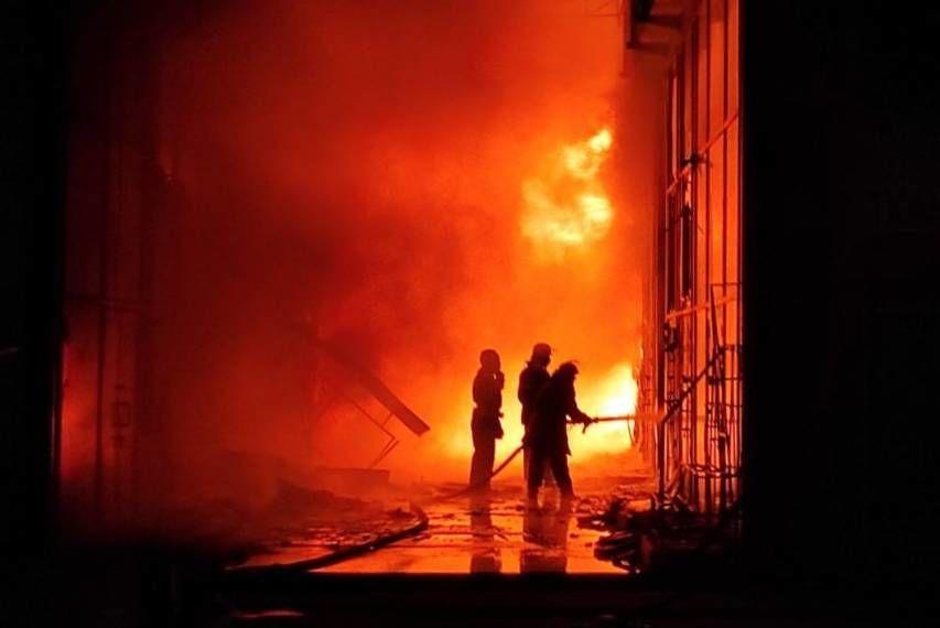 пожежа на ринку Барабашово в Харкові_1
