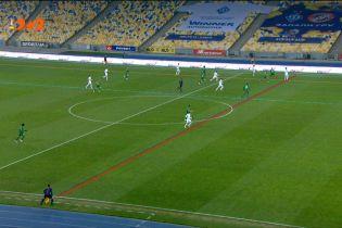 Динамо - Ворскла – 1:0. Гол Де Пени скасували після перегляду VAR