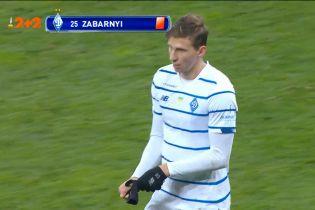 Динамо - Ворскла - 2:0. Відео вилучення Забарного після перегляду VAR