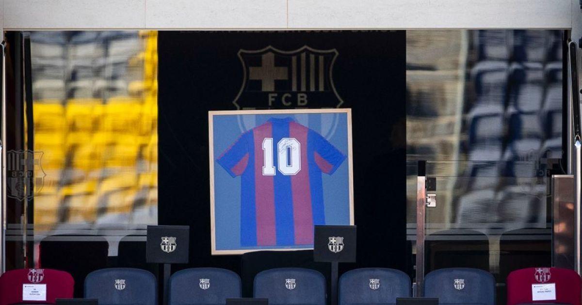 """Марадона навсегда"": ""Барселона"" красиво почтила память легендарного аргентинца (видео)"