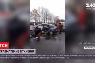В крупном ДТП на выезде из Новоград-Волынского обнаружили уже 5 пострадавших