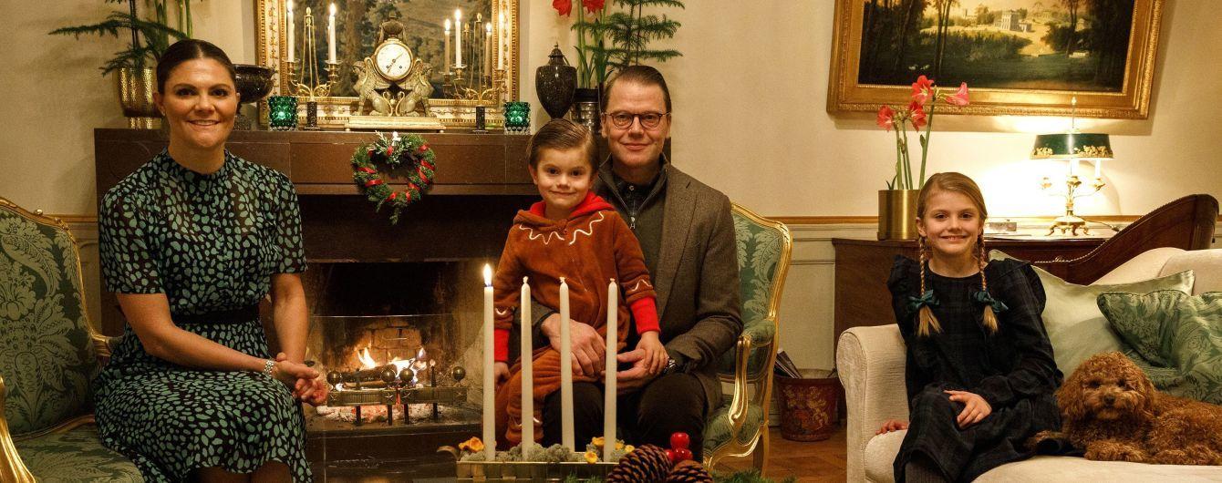 Шведская кронпринцесса Виктория и ее семья записали видеообращение из замка
