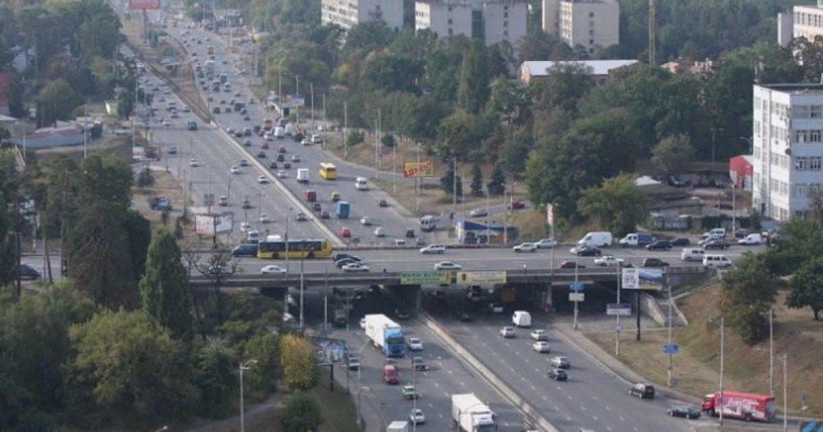 """В Киеве возле метро """"Академгородок"""" построят многоуровневую развязку"""