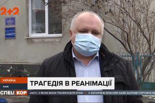 У Львівській області через знеструмлення лікарні загинуло двоє хворих на коронавірус