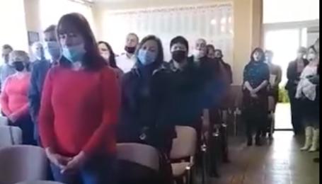 На Закарпатье депутаты в День достоинства и свободы Украины спели гимн Венгрии - соцсети