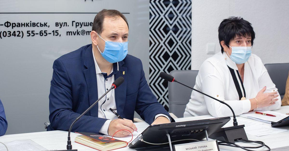 Мэр Ивано-Франковска выступил против введения локдауну