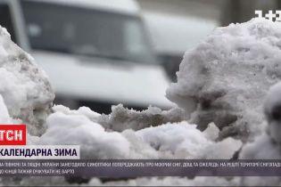 Снег, мороз и гололед - в некоторых регионах Украины началась зима