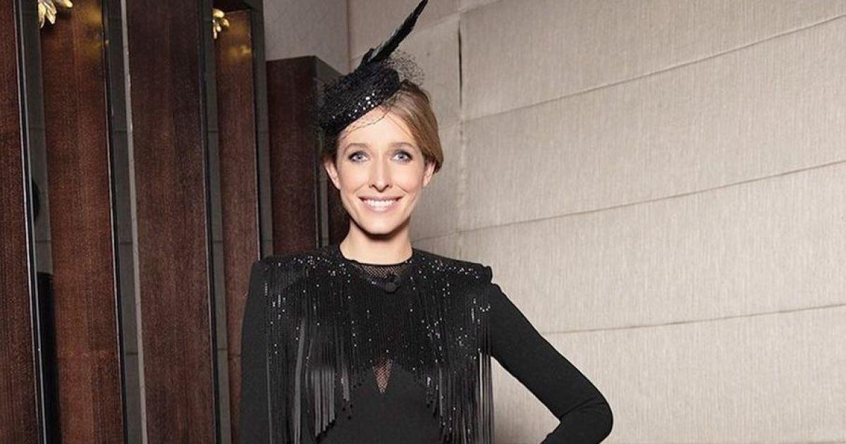 У сукні з торочками і капелюшку з пером: вечірній лук Каті Осадчої на зніманнях