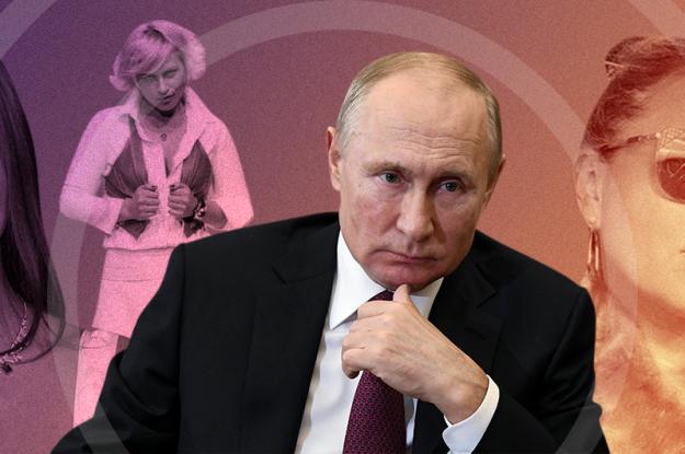 Гарем Путина: женщины, которым приписывают роман с президентом России