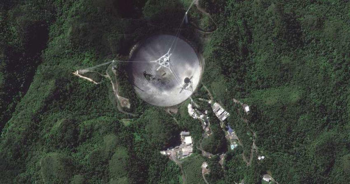 У Пуерто-Ріко впав один із найбільших у світі радіотелескопів