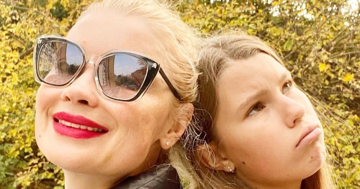 """Лідія Таран захопила кумедними знімками з 13-річною донькою: """"Як подружки"""""""