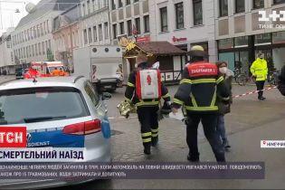 Число жертв наезда в центре немецкого Трира возросло до четырех