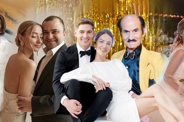 Звездные свадьбы 2020: неожиданное бракосочетание Чапкиса и роскошная церемония Остапчука и Горняк