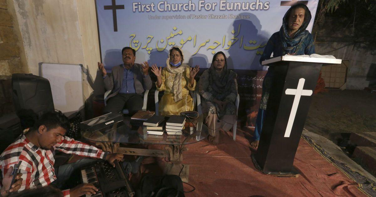У Пакистані трансгендери-християни створили власну церкву