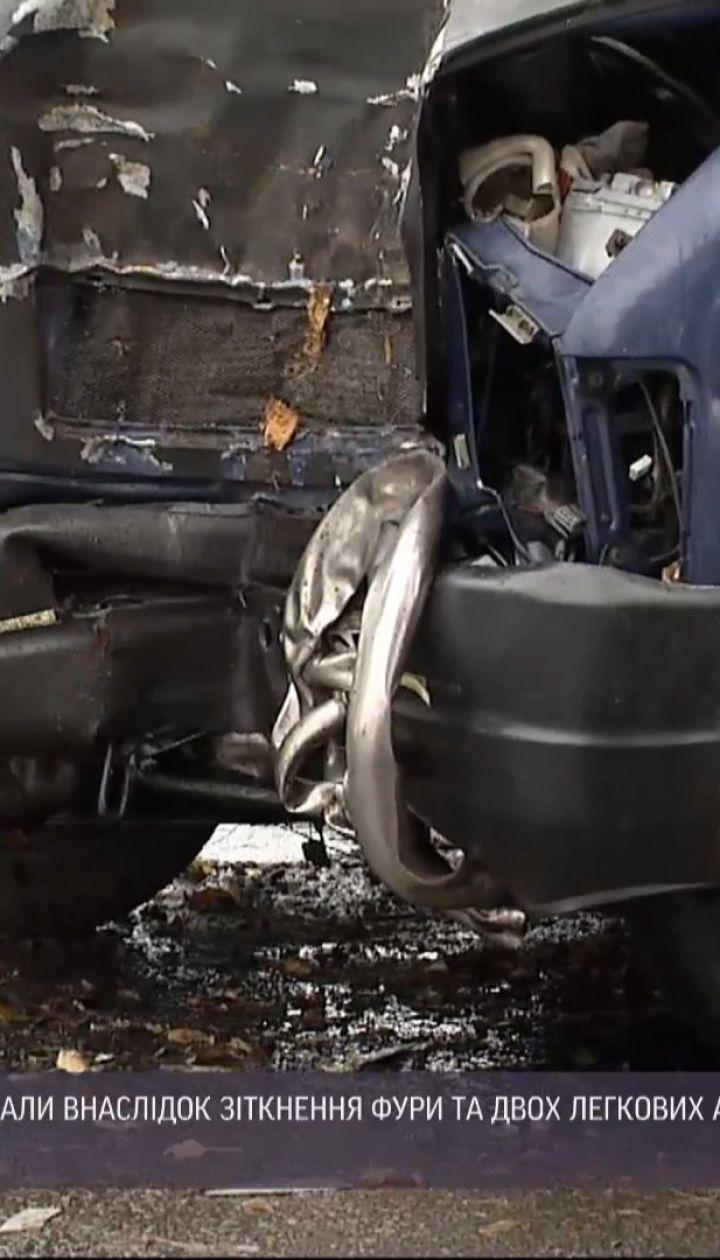 Внаслідок двох аварій неподалік Борисполя постраждало 7 осіб