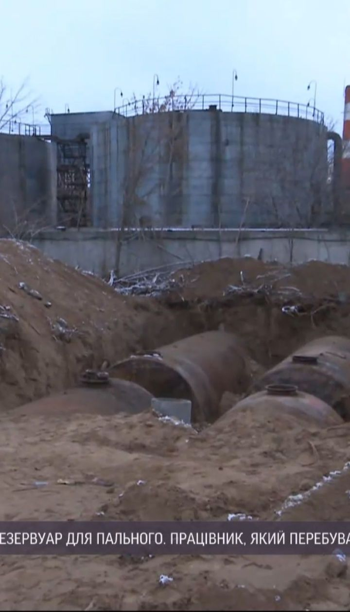 В Запорожье произошел взрыв на заправке - есть погибший