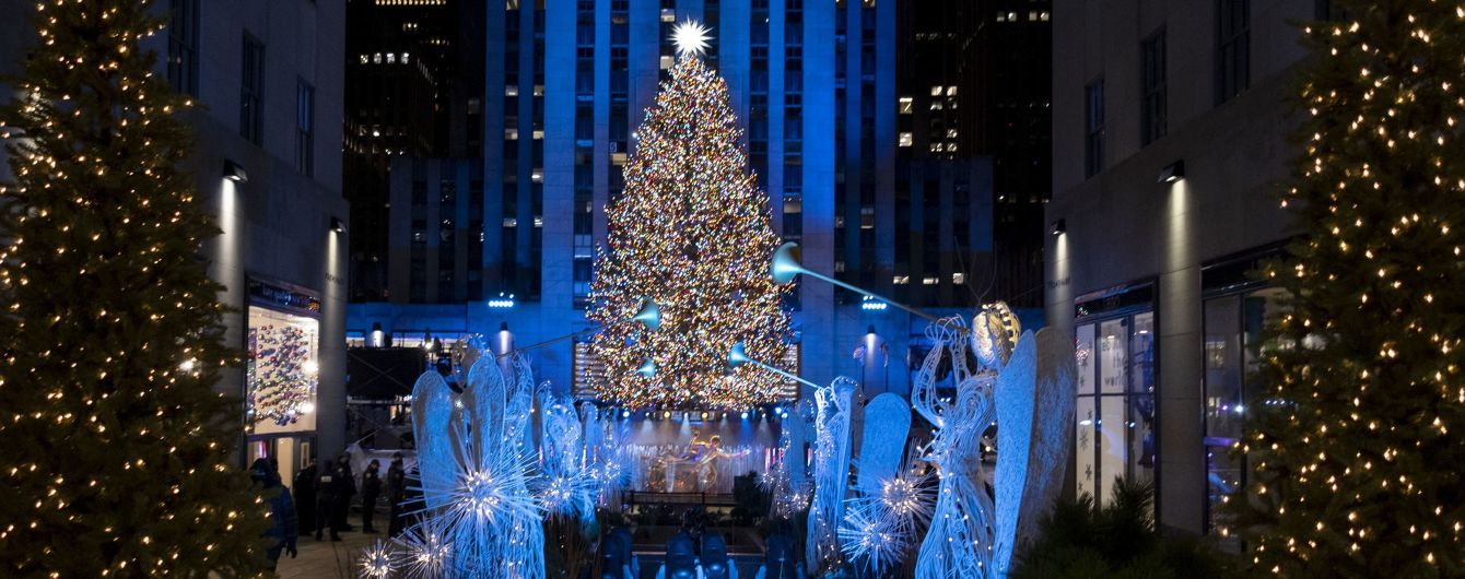 У Нью-Йорку відкрили головну різдвяну ялинку США