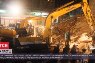 В єгипетському місті Александрія обвалився 3-поверховий будинок – у помешканні було 20 осіб