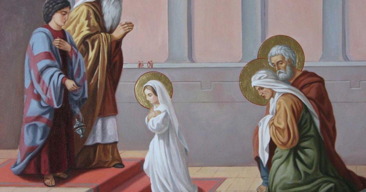 Введення у храм Пресвятої Богородиці: що можна їсти та одяг якого кольору вдягати цього дня