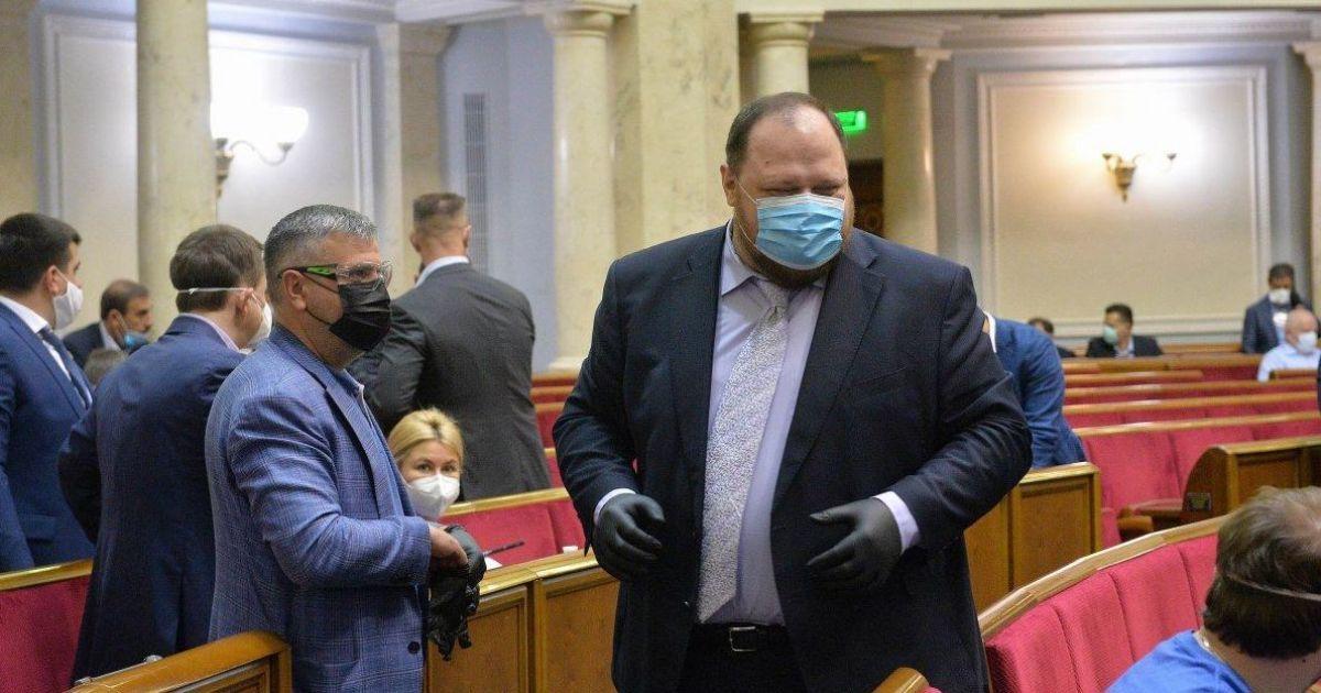 """Первый вице-спикер Рады Стефанчук вылечился от коронавируса и заявил о """"побочных последствиях"""""""