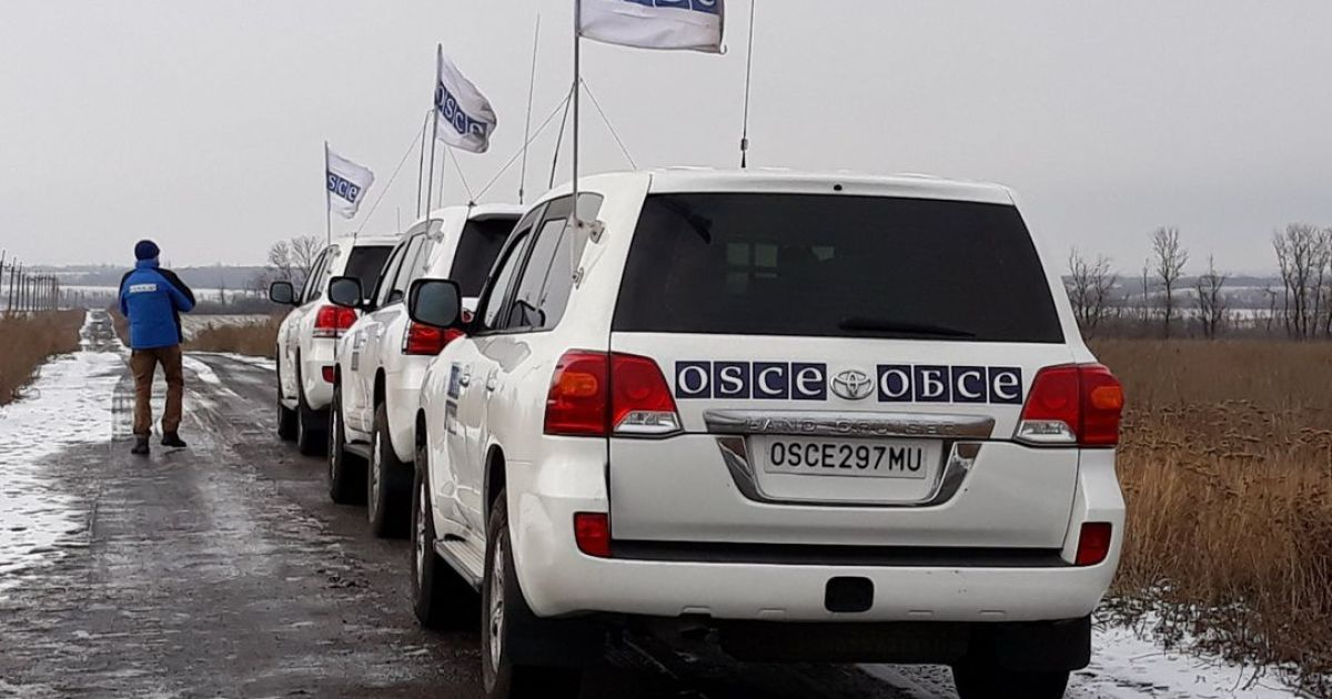 """В ОБСЕ назвали четыре """"горячие точки"""" на Донбассе"""