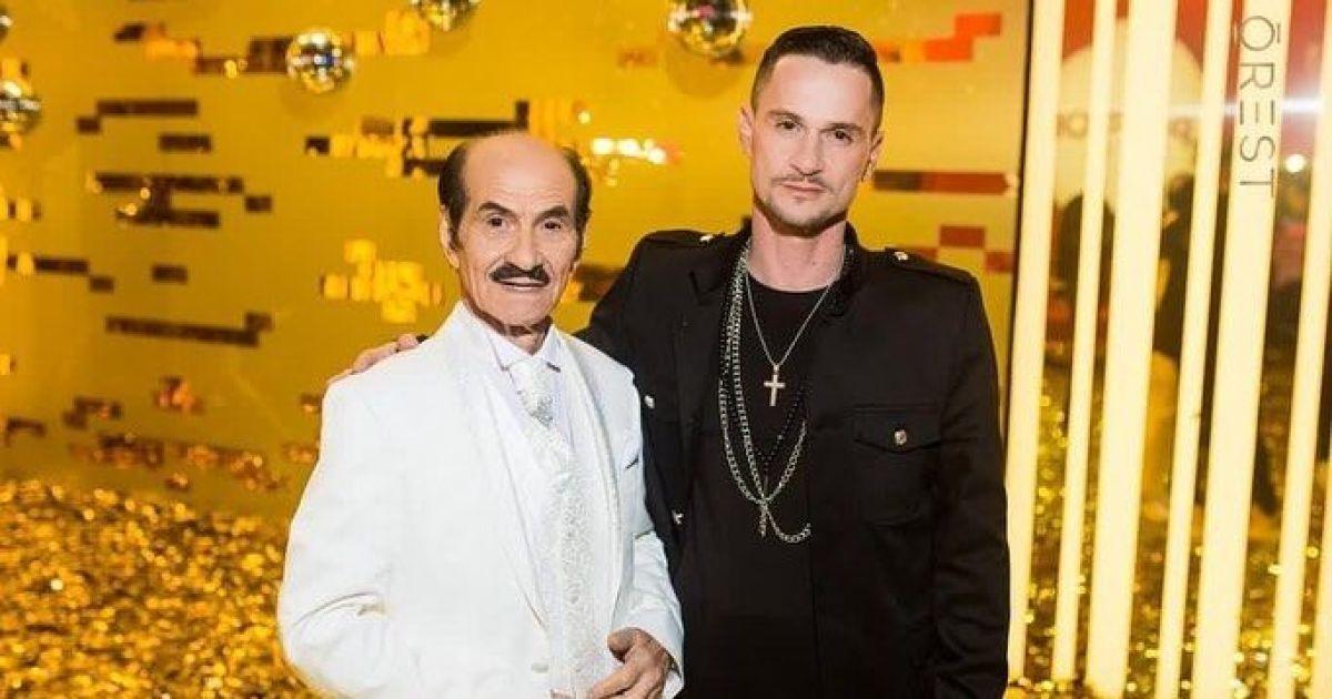 Син Григорія Чапкіса прилетів до батька з США і показав, у якому зараз стані артист