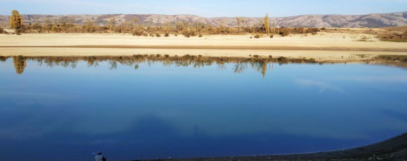 В аннексированном Крыму пересохло Аянское водохранилище