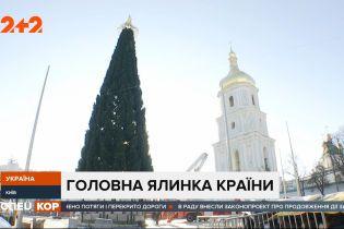 В Киеве украшают главную елку страны