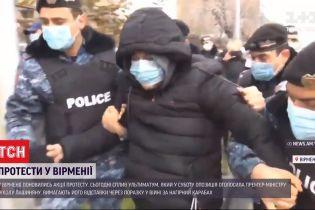 Через поразку у війні за Нагірний Карабах у Вірменії вимагають відставки прем'єр-міністра