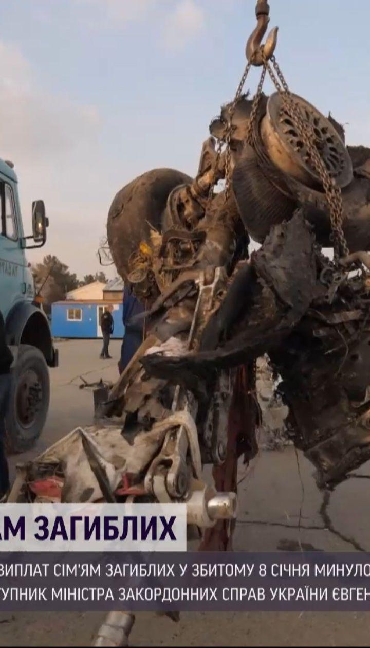 Иран отозвал выплаты семьям погибших в авиакатастрофе самолета МАУ