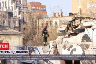 У середмісті Дніпра на чоловіка впала бетонна плита