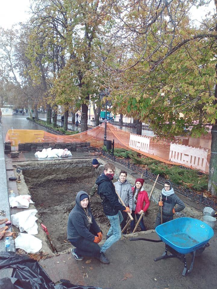розкопки в Одесі