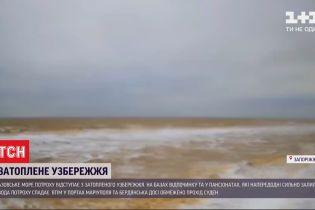 Через негоду лоцмани Азовського моря не дають дозвіл на супровід кораблів до пірсів