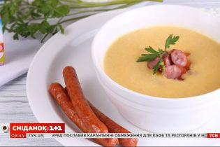 Бюджетный и простой в приготовлении сырный крем-суп